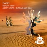 Sabo - Robot Heart - Burning Man 2014