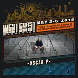 Oscar P - Exclusive mix for West Coast Weekender 2018