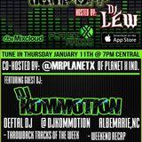 Dj Kommotion January 12, 2018 Planet X radio Mix