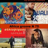 AFRO TALENTS   Afro groove N°75    RADIO HDR ROUEN