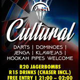 Cultural - This Is What We Do Every Saturday 2 #One80DartPub