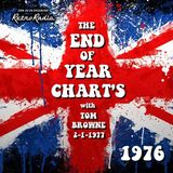 End of Year Chart - 1976 - Solid Gold Sixty - Tom Browne - 2-1-1977