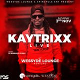 Kaytrixx LIVE Mix at Wessyde Kericho (3rd Nov 2018) - Spin Cycle Entertainment. Part 1.