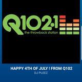 Q102 SF July 4th 2018 - Guest Mix