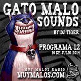 GATO MALO Sounds. Show 12. 10-07-2014. www.muymalos.com