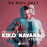 Kiko Navarro @ Marula Cafe