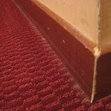 skirting boards and carpet mix