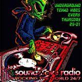 Alien LIVE on Soundwaveradio - Underground Tekno Vibes 16/07/2k15