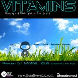 Vitamins ep62 - Motoe Haus - www.ibizaliveradio.com