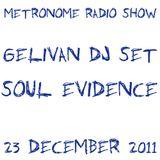 Soul Evidence Session @ Métronome Radio Show - 23.12.2011