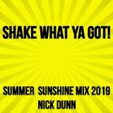 SHAKE WHAT YA GOT!  - SUMMER SUNSHINE MIX 2019