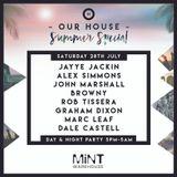 Jayye Jackin - Our House Mix