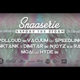 Snaaserie Before The Storm VO.1 | 4 decks Live Mix | 21.02.2014
