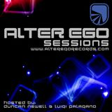 Alter Ego Sessions - Sept 2018 - Episode 124 - Mixed By Luigi Palagano