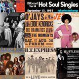 BILLBOARD HOT SOUL Top 50 - September 13, 1975