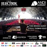 Electrik Playground 27/9/14 - Thomas Gold Guest Mix
