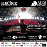 Electrik Playground 27/9/14 - Thomas Gold Guest Mix