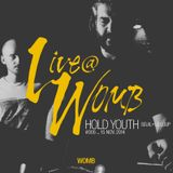 Live at WOMB #005 - Hold Youth (Seuil+Le Loup) - 15th Nov 2014