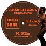 Absolut Soul Show /// 10.03.2016 on SOULPOWERfm