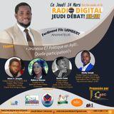Jeunesse et Politique en Ayiti: quelle participation?