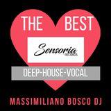 Sensoria Records The Best (Deep-House-Vocal)- Massimiliano Bosco Dj