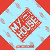 Martin Solveig – MyHouse January 2017 Mix Show