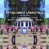 Artelized Visions 054 (June 2018) with Artelized set recorded @ Bionysie Festival 2018 [Czech Rep.]