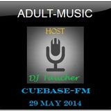 DJ Taucher - ADULT MUSIC RADIO SHOW - May 2014 Recorded live from Kunstpark Ost Koeln