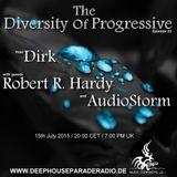 Dirk - Host Mix - The Diversity Of Progressive 23 (15th July 2015) on DeepHouseParadeRadio