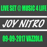 Joy Nitro 09-09-17 @ Music 4 Life Vazzola