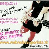 ROCK EMPOEIRADO EDICAO 3