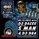 Dazee Presents The Ruffneck Ting Take Over 03.12.2015 with Guest Mixes From S Man And d8a