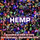 Hemp - Recorded at Tribe of Frog September 2016