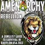 Rebellion - AMENarchy: A Junglist' Guide To Survival In Babylon USA 2013