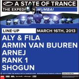 Rank 1 - Live @ A State of Trance 600 Mumbai (16.03.2013)
