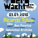 Ricardo Tobar Live @ BergWacht ARTheater Cologne 03.07.2010