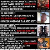 0419 23-24h Kato PrOmO-Factory Excl. Guest Radio Show w/Lewis Shephard(Exclusive Music Selection)