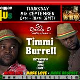 MORE FYAH SHOW SIR DADDY D INTERVIEW WITH TIMMI BURELLON WWW.REGGAE4US.COM