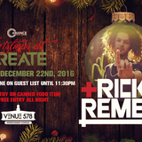 Ricky Remedy @ Christmas At Create Orlando, United States 2016-12-22
