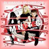 MADONNA feat. JUSTIN TIMBERLAKE 4 MINUTES 2016 [DJ AMANDA VS CHRIS COX]