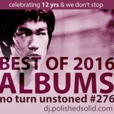 Best Albums of 2016 (No Turn Unstoned #276)