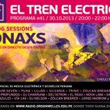 Ionaxs - Ocasos bajo el mar - Sesión de radio en, El tren electrico