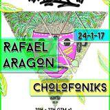 La Selva Radioshow - 24.01.2017: Cholofoniks // Rafael Aragon