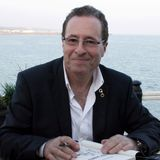 Sticks show with  author Peter James