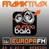 FR4NK TR4X session @ Europa Baila, EUROPA FM