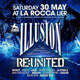 dj David Dm @ La Rocca - Illusion ReUnited 30-05-2015