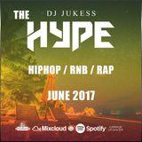 @DJ_Jukess - #TheHype June Rap, Hip-Hop and R&B Spotify Promo Mix
