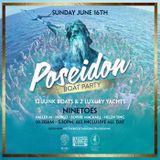Indigo at The Poseidon Boat Party (June 16th)