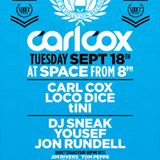 Carl Cox b2b Loco Dice - Live @ The Revolution Recruits Closing Party (Space) - 18.09.2012