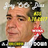"Nashville StandUp Sits Down #35 – 1/18/2017 – Joey ""CoCo"" Diaz"